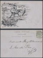 CC220 Carte De Ostende Pour La Ville 1902 - âne - 1893-1907 Wappen