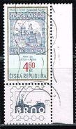 Tschechien 1999, Michel# 203 O Prague, Statue Of St. Wenceslas, Stamp From Jaroslav Šetelík - Tschechische Republik