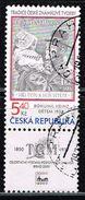Tschechien 2000, Michel# 242 O Bohumil Heinz´s Stamp For Children From 1938 - Czech Republic