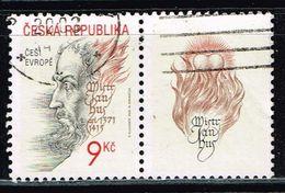Tschechien 2002, Michel# 328 O Jan Hus - Czech Republic