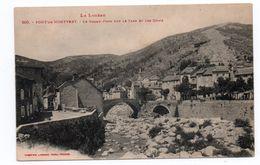 LE PONT DE MONVERT (48) - LE GRAND PORT SUR LE TARN ET LES QUAIS - Le Pont De Montvert