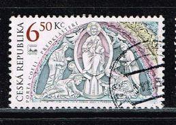 "Tschechien 2003, Michel# 370 O The Porch Of The Basilica Of The ""PORTA COELI"" Monastery - Czech Republic"