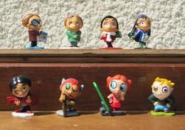 Kinder 2008 : Série Complète Ca Rigole à L'école (8 Figurines) - Kinder & Diddl