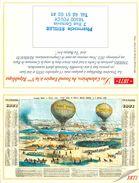 CALENDRIER DE POCHE 2000 PHARMACIE A FOECY CHER THEME MONTGOLFIERE CALENDRIER DES POSTES 1871 - Calendriers