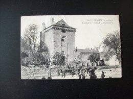 Carte Postale Ancienne De Châteaubriant: Pavillon Des Champs Et La Gendarmerie - Châteaubriant