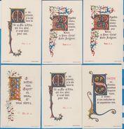 Image Pieuse -  SANTINO - Holly Card -  LOT De 6 Images - C - Devotion Images