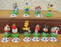 Kinder 2008 : Série Complète Magic Sport 2  Avec 1 BPZ (10 Figurines) - Lots