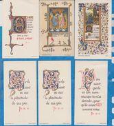 Image Pieuse -  SANTINO - Holly Card -  LOT De 6 Images - D - Devotion Images