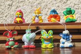 Kinder 2009 : Série Complète Les Animaux De Pâques (8 Figurines) - Kinder & Diddl