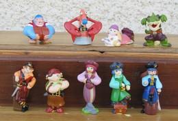 Kinder 2009 : Série Complète Monstres Et Pirates Avec 4 BPZ (9 Figurines) - Kinder & Diddl