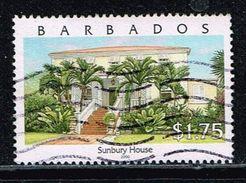 Barbados 2000, Michel# 971 O Drax Hall House - Barbados (1966-...)