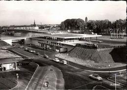 ! Ansichtskarte Strasbourg, Strasburg, Zollstation An Der Europabrücke, Douane, Voitures, Autos, Cars - Strasbourg