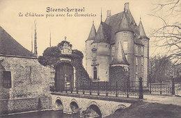 Steenokkerzeel - Le Château Pris Avec Les Armoiries (Marco Marcovici) - Steenokkerzeel