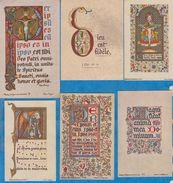 Image Pieuse -  SANTINO - Holly Card -  LOT De 6 Images - H - Devotion Images