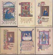 Image Pieuse -  SANTINO - Holly Card -  LOT De 6 Images - I - Devotion Images