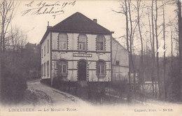 Linkebeek - Le Moulin Rose (Lagaert 1905... Manque De Matières) - Linkebeek