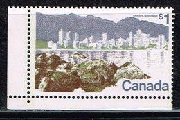 Kanada 1977, Michel# 496 ** Vancouver - 1952-.... Reinado De Elizabeth II
