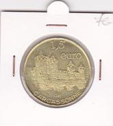 Carcassonne 1,5 Euros Octobre 1997 Euro De Ville - EURO