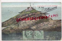 ROYAUME UNI -PAYS DE GALLES- MIMBLES LIGHTHOUSE SWANSEA -1911 - Pays De Galles