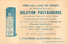 PUBLICITE SOLUTION PAUTAUBERGE COURBEVOIE  COLLECTION LES RACES HUMAINES BRETONNES - Pubblicitari