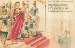 PUBLICITE SAINT GALMIER SOURCE BADOIT  EDITION LE HENAFF - Pubblicitari