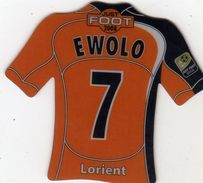 Magnet Magnets Maillot De Football Pitch Lorient Ewolo 2008 - Sports
