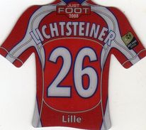 Magnet Magnets Maillot De Football Pitch Lille Lichtsteiner 2008 - Sports