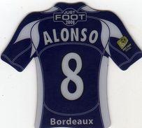 Magnet Magnets Maillot De Football Pitch Bordeaux Alonso 2008 - Sports