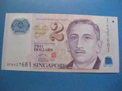 BILLETE DE SINGAPORE DE $2 DEL AÑO 2005   (BANKNOTE) POLIMERO - Singapore