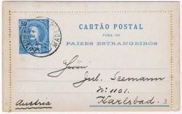 Funchal, Cartão Postal Funchal-Austria - Funchal