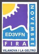 Tarjeta *Radioaficionado* *ED3ATR - Vilanova I La Geltrú 1992* Ver Dorso. - Radio Amateur