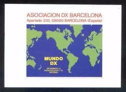 Tarjeta *Radioaficionado* *Associacion DX Barcelona* Ver Dorso. - Radio Amateur