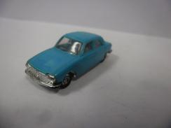 VINTAGE PEUGEOT 204 Bleu Turquoise Marque Micro Miniatures De NOREV 1/86 ° 1/87 ° France - Echelle 1:87