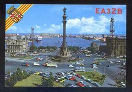 Tarjeta Postal *Radioaficionado* *AE3ZB - Barcelona* Ver Dorso. - Radio Amateur