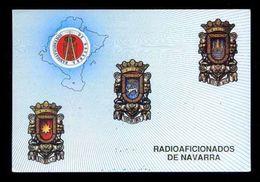 Tarjeta *Radioaficionado* *Radioaficionados De Navarra* Ver Dorso. - Radio Amateur