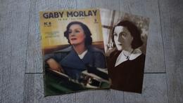 Gaby Morlay Sa Vie Ses Films Visages Et Contes Du Cinéma N° 8 Avec Son Supplément 1937 Cinéma - Cinema/Televisione