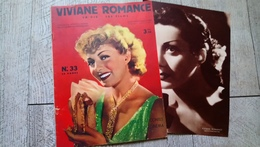 Viviane Romance Sa Vie Ses Films Visages Et Contes Du Cinéma N° 33 Avec Son Supplément 1939 Cinéma - Cinema/Televisione