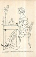 ILLUSTRATEUR  E. TOURAINE PUBLICITE GYRALDOSE SOINS INTIMES - Illustrateurs & Photographes