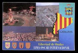 Tarjeta *Radioaficionado* *Liberta D´Ones. Catalunya* Meds: 100 X 150 Mms. Ver Dorso. - Radio Amateur