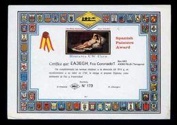 Tarjeta Postal *Radioaficionado* *EA3EGH - Reus, Tarragona* Meds: 105 X 150 Mms. Ver Dorso. Circulada. - Radio Amateur