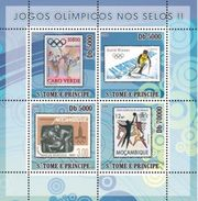 S. TOME & PRINCIPE 2008 - Olympics On Stamps II, Los Angeles - YT 2628-31 - Summer 1984: Los Angeles