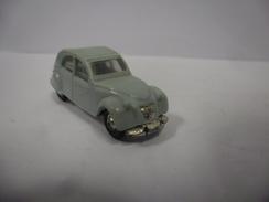 VINTAGE CITROEN 2 CV Couleur Gris Marque Micro Miniatures De NOREV 1/86 ° 1/87 ° France - Echelle 1:87