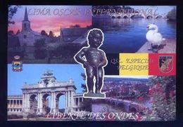 Tarjeta Postal *Radioaficionado* *QSL. Especial Belgique* Meds: 105 X 152 Mms. Ver Dorso. - Radio Amateur