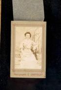 Photographie Carte De Visite CDV : Femme / Photographe C GRATIOLET - Persone Anonimi