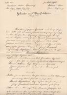 Geburts-u.Taufschein (Zeugnis) Ausgestellt 1914, 1 Krone Stempelmarke, A3 Format, Größe ... - Historische Dokumente