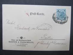 GANZSACHE Mödling - Pröllas Kleiner + Fleischmann 1900 //// D*25537 - 1850-1918 Imperium