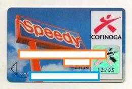 CARTE DE CREDIT COFINOGA  Speedy - Cartes De Crédit (expiration Min. 10 Ans)