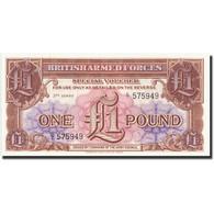 Grande-Bretagne, 1 Pound, Undated 1956, KM:M29, SPL - Military Issues