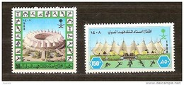 Saoedi Arabie Saoudite 1988 Yvertn° 708-709 *** MNH  Cote 4,50 Euro - Arabie Saoudite