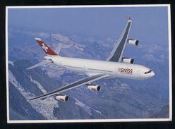 SWISS AIR - AEREO AIRBUS A340 - 300 - 1946-....: Era Moderna